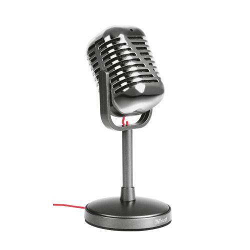 Microfone Trust Elvii - Vintag