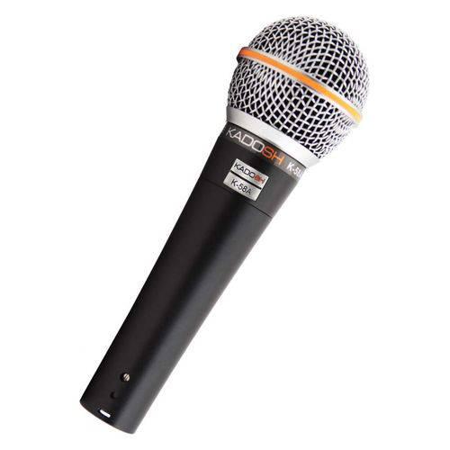 Microfone Vocal com Fio Kadosh K-80c