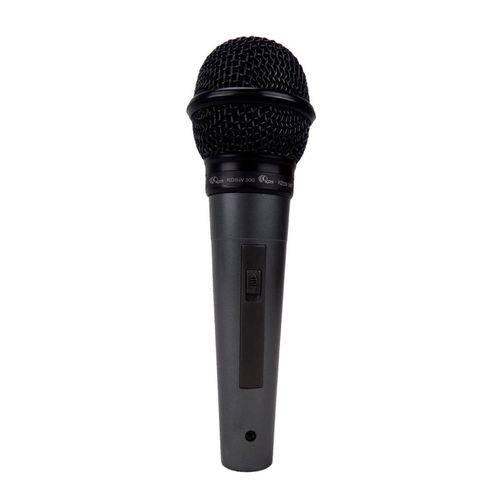 Microfone Vocal Dinâmico Unidirecional C/ Fio Kds-300 Kadosh