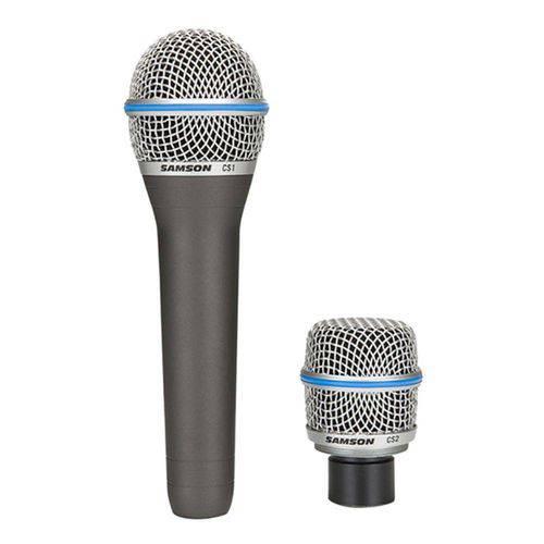 Microfone Vocal e Instrumentos Cs Series (2 Peças) - Samson