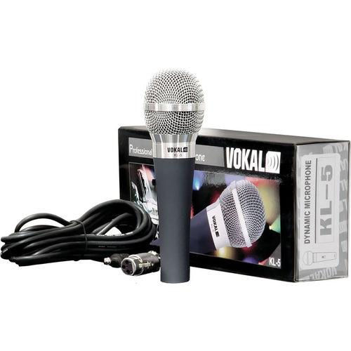 Microfone Vokal com Fio Dinâmico KL5