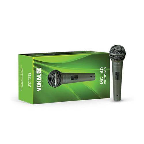 Microfone Vokal Mc-40 - com Cabo