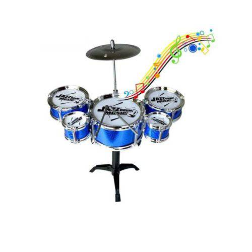 Mini Bateria Musical Infantil 5 Tambores - Happy Jazz Drum