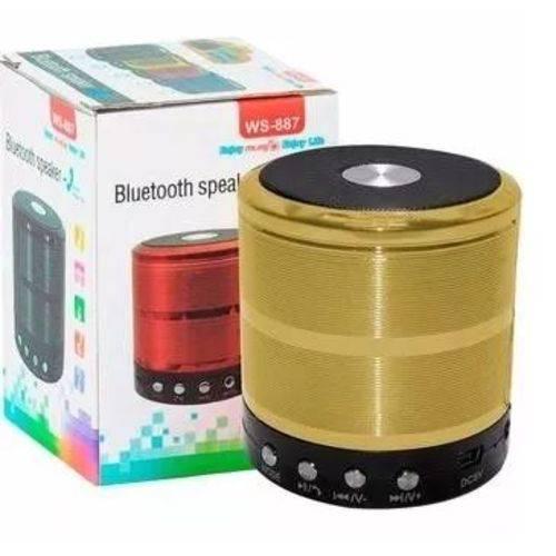 Mini Caixa de Som Portátil Bluetooth USB MP3