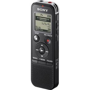 Mini Gravador Digital Sony ICD-PX240 com 4Gb de Memória Interna