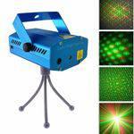 Mini Laser Stage Lighting Projetor Holografico Tripe Yx-09