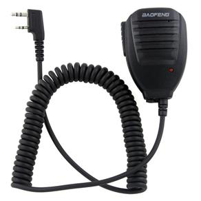 Mini Microfone Ptt Baofeng para Rádio Comunicador
