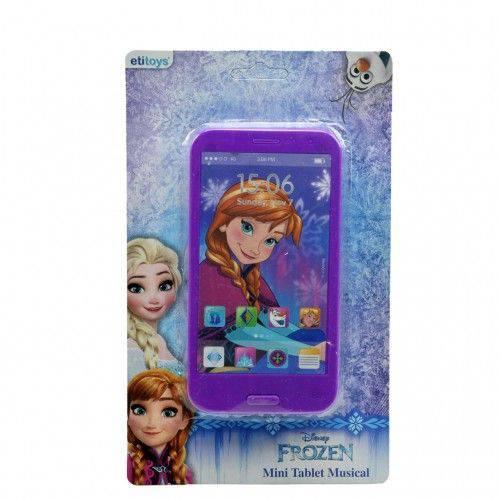 Mini Tablet Infantil Musical Frozen