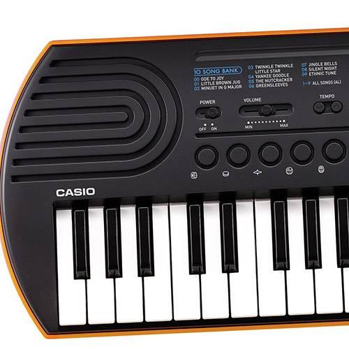 Mini Teclado Casio Infantil SA-76H2