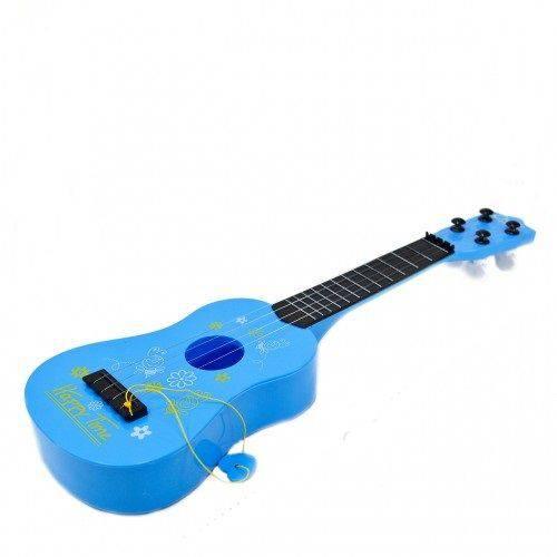 Mini Violão de Brinquedo com Corda e Palheta 42 Cm