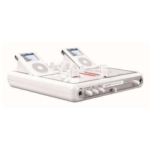 Mixer para IPOD White Gemini ITrax
