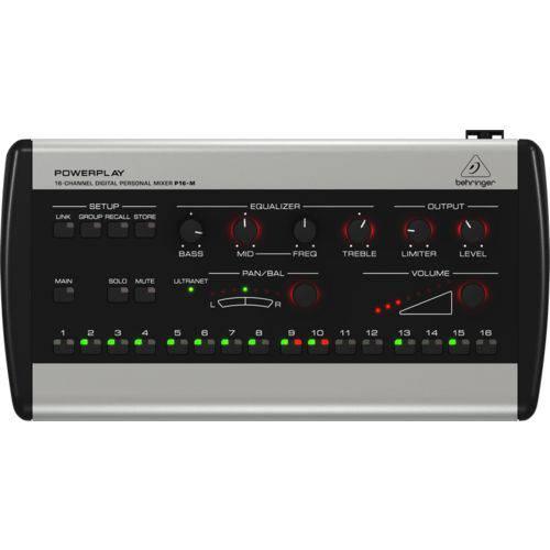 Mixer Pessoal Digital Powerplay - P16m - Behringer