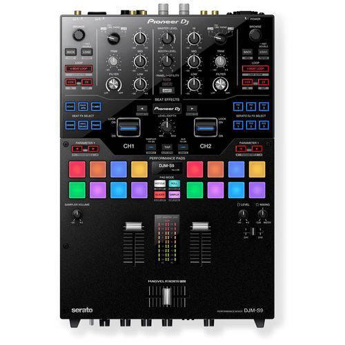 Mixer Pioneer DJ Djm-s9 de 2 Canais para Serato DJ