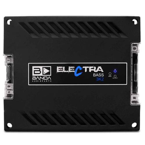 Módulo Amplificador Banda Electra Bass 3K2 3000W Rms 1 Canal 2 Ohms Classe D