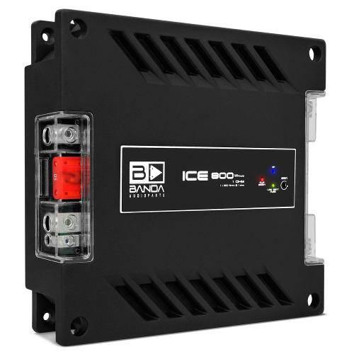 Modulo Amplificador Banda Ice 800 Digital 1 Canal 800w Rms