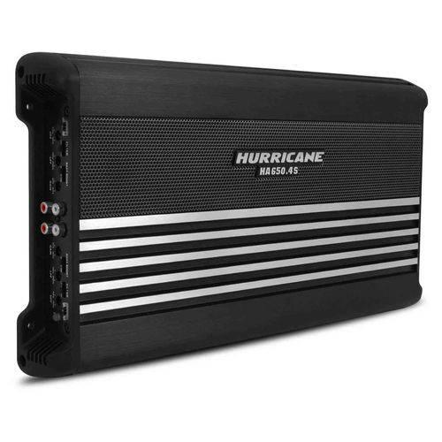 Módulo Amplificador Hurricane Ha 650.4S 2600W Rms 4 Canais 2 Ohms Classe Ab