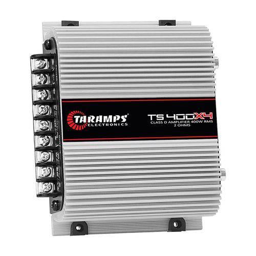 Módulo de Potência Taramps Ts- 400x4 Digital 2r 400w Rms 4 Canais Full Range 13,8v