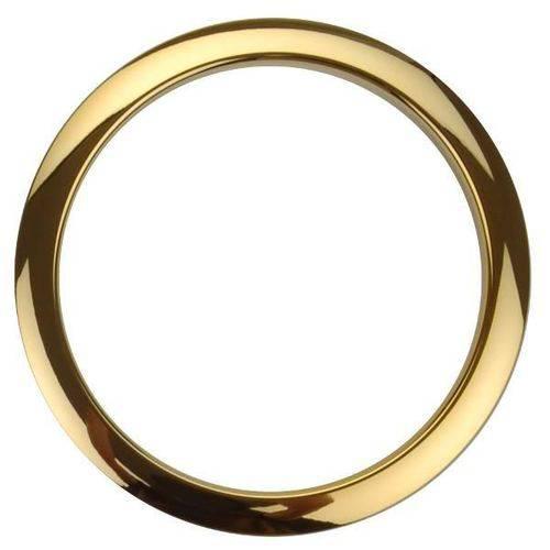 Molde para Furo no Bumbo Bass Drum os Dourado com 5¨ Proteja e Decore o Furo do Bumbo
