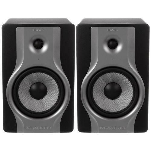 Monitor de Referência Ativo BX8 Carbon 8 Polegadas 130W M-Audio (Par)