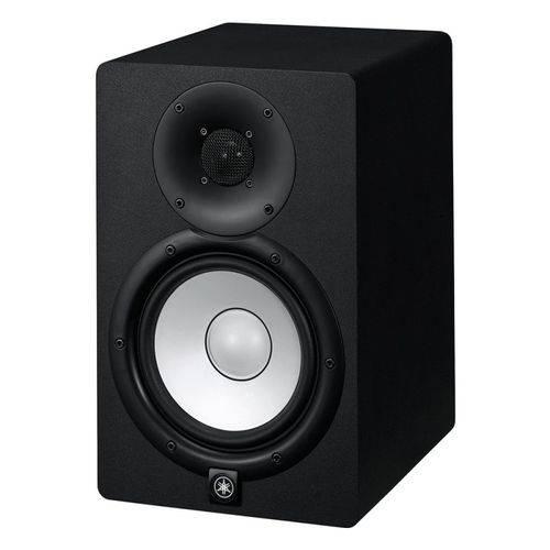Monitor de Referência Yamaha Hs7 Preto Bi-Amplificado