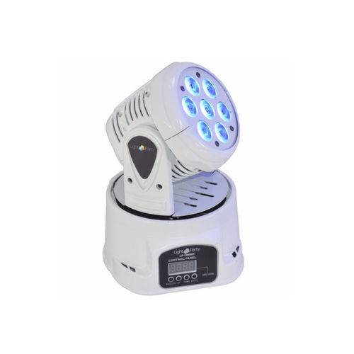 MOVING HEAD MAKPRO WASH LED 7x10W RGBW MINI -BRANCO