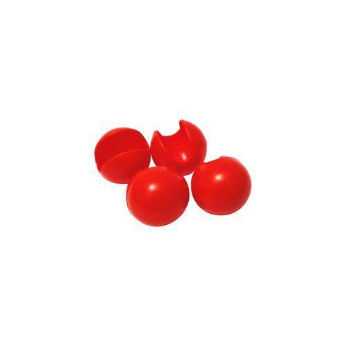 Nariz de Palhaço Vermelho - Pacote com 4 Unidades