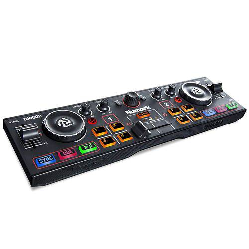 Numark DJ2GO2 | Pocket DJ Controller With Audio Interface