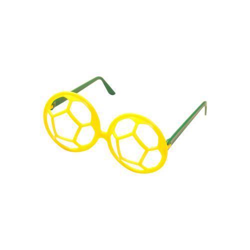 Óculos Bola Amarelo e Verde - Pacote com 6 Unidades