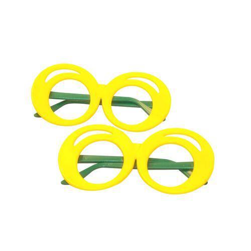 Óculos Zoião Amarelo e Verde - Pacote com 6 Unidades