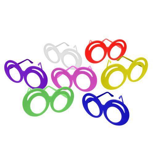 Óculos Zoião Colorido - Pacote com 6 Unidades