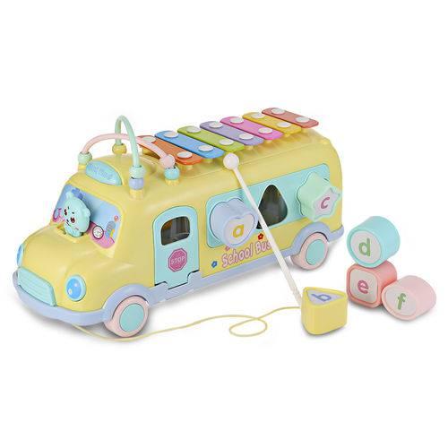 Ônibus de Brinquedo Escolar para Bebê 1022 - 9