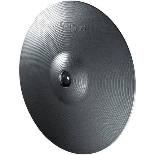 Pad Prato de Bateria Eletronica Roland V-Cymbal Ride Cy-15r-mg Metallic Gray