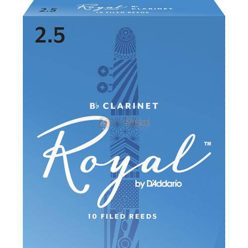 Palheta Clarineta Rico Royal 3 - Unitario