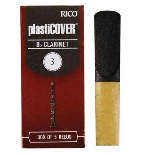 Palheta Clarinete 3 RRP05BCL300 Caixa 5 Unidades - Plasticover