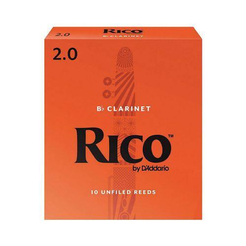 Palheta para Clarinete Bb - Si Bemol Rico #2 #2200-150-13-AD