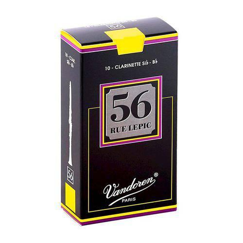 Palheta para Clarinete Bb - Si Bemol Vandoren Rue Le Pic #3 #2200-170-12-AA1