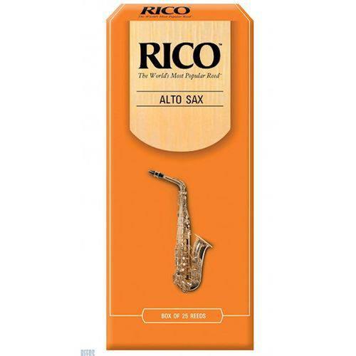 Palheta para Sax Alto Rico #2 (caixa C/ 25 Un) #2110-150-13-AD25