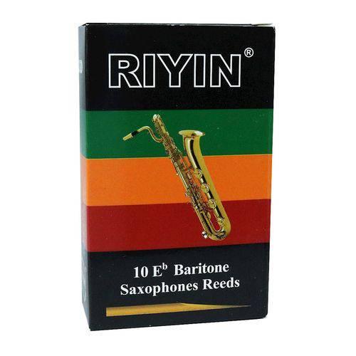 Palheta para Sax Barítono 2.5 Caixa com 10