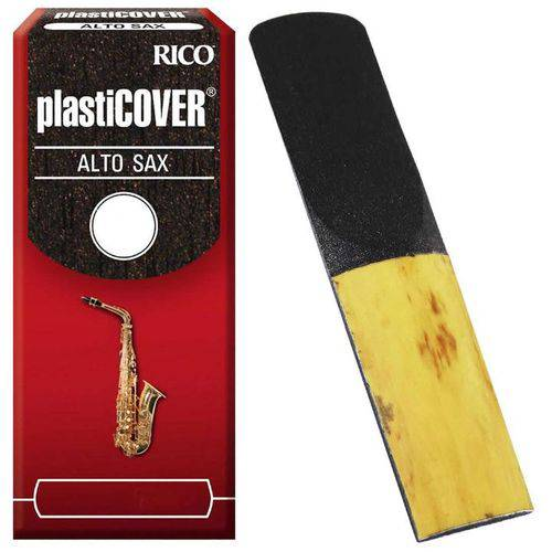 Palheta para Saxofone Alto 2 Rico Plasticover