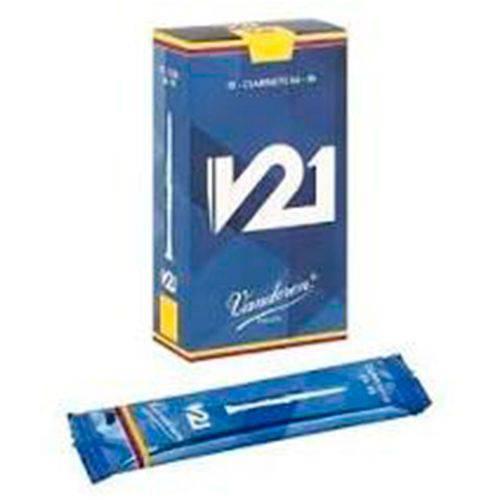 Palheta para Saxofone Alto - Vandoren V21 #3 (Caixa com 10 Und.) #2110-170-12-V21