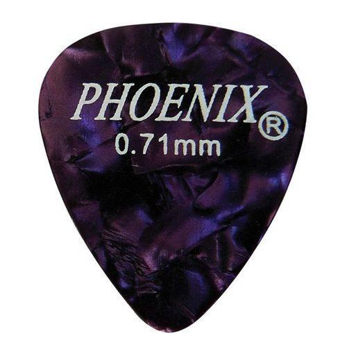 Palheta Phoenix Medium Cores Sortidas 10 Unid