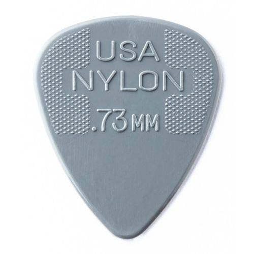 Palhetas Dunlop Nylon 0,73 Mm – 12 Unidade