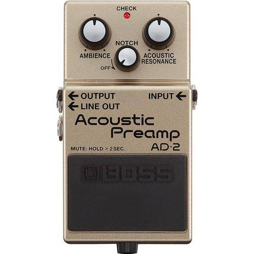 Pedal Acoustic Preamp AD-2 - Boss
