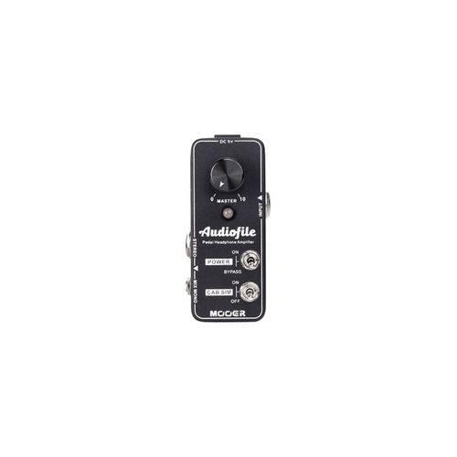 Pedal Amplificador Fones e Simulador de Gabinete Mooer Audiofile