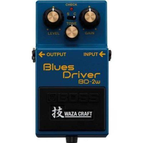 Pedal Blues Driver Bd-2w Waza Craft - Boss