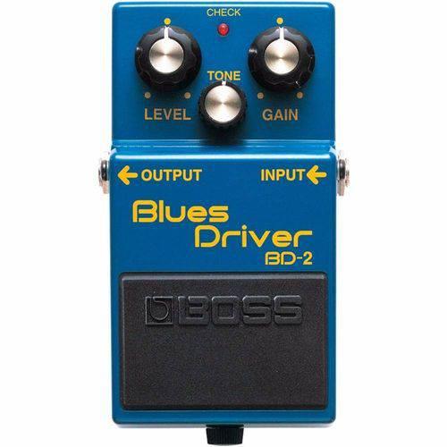 Pedal Boss Blues Driver Bd2 Guitarra Distorção Overdrive