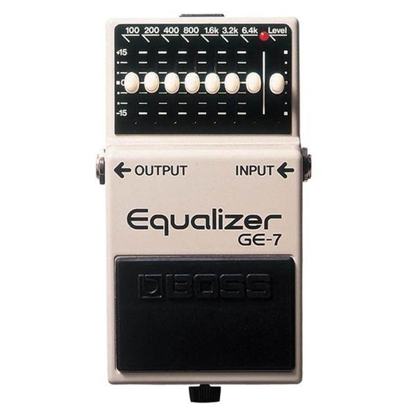 Pedal Boss Equalizer GE-7 Equalizer para Guitarra