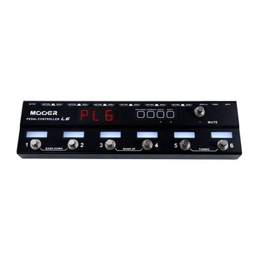 Pedal Controlador Mooer Loopswitcher PCL6 - PD1078