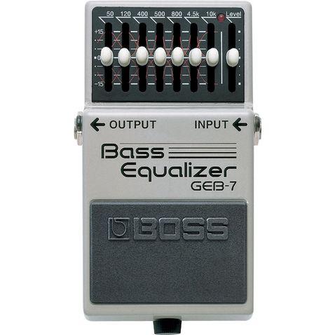 Pedal de Baixo Boss Geb 7 Bass Equalizer