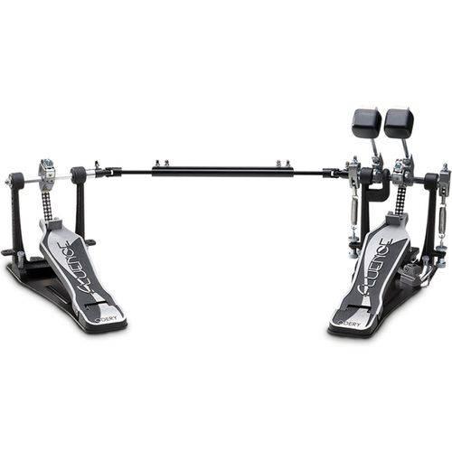 Pedal de Bumbo Duplo Odery Fluence Jazz-Fusion Pd-802fl
